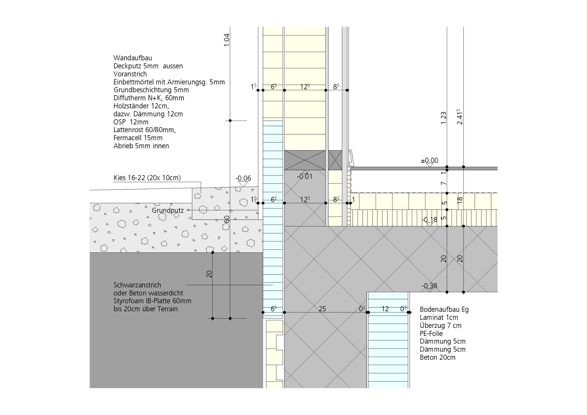 Doppeleinfamilienhaus Seedorf Cibien Architektur Ch